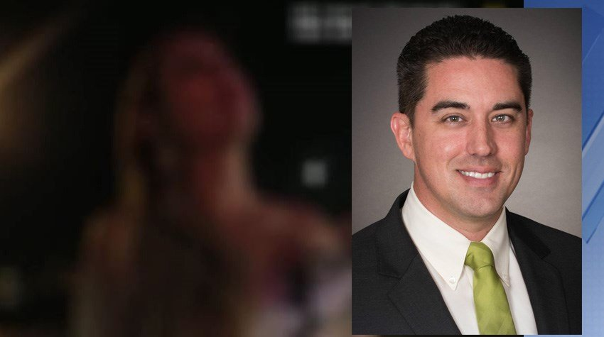The wife of Mesa City Councilman Ryan Winkle spoke with Tempe police during a traffic stop and it was captured by the officers' body cameras. (Source: Tempe Police Department, 3TV/CBS 5)