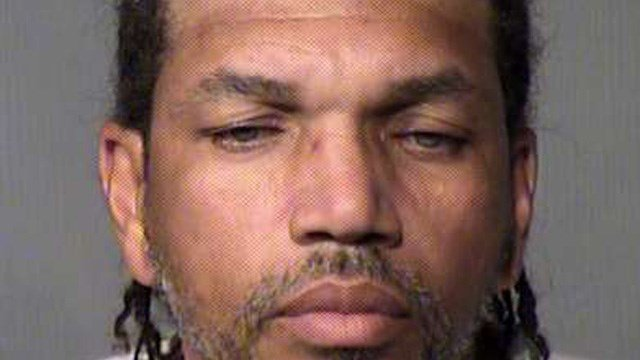 Booking photo of George Reed, 48 (Maricopa County Sheriff's Office)