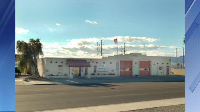This is Fire Station No. 5 where the hottest temperature in Arizona was recorded. (Source: Google Maps)