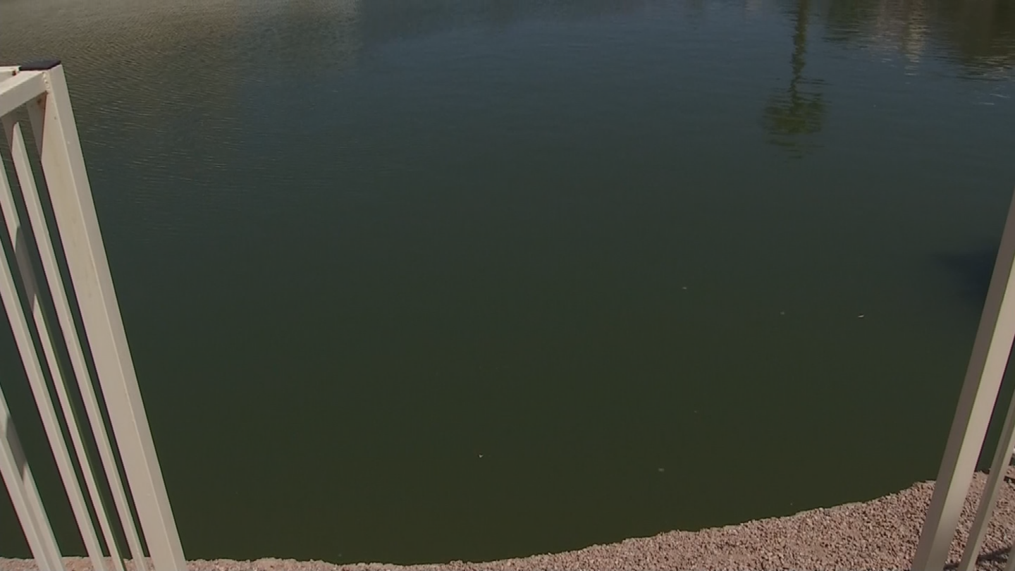 Jason Stottler and Paul Shuma were working on Deal's home when they dropped everything and jumped in the lake. (Source: 3TV/CBS 5)