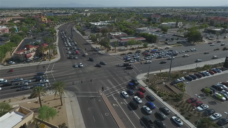 Connected vehicles and intersections could have a dramatic impact on safety. (Source: 3TV/CBS 5)