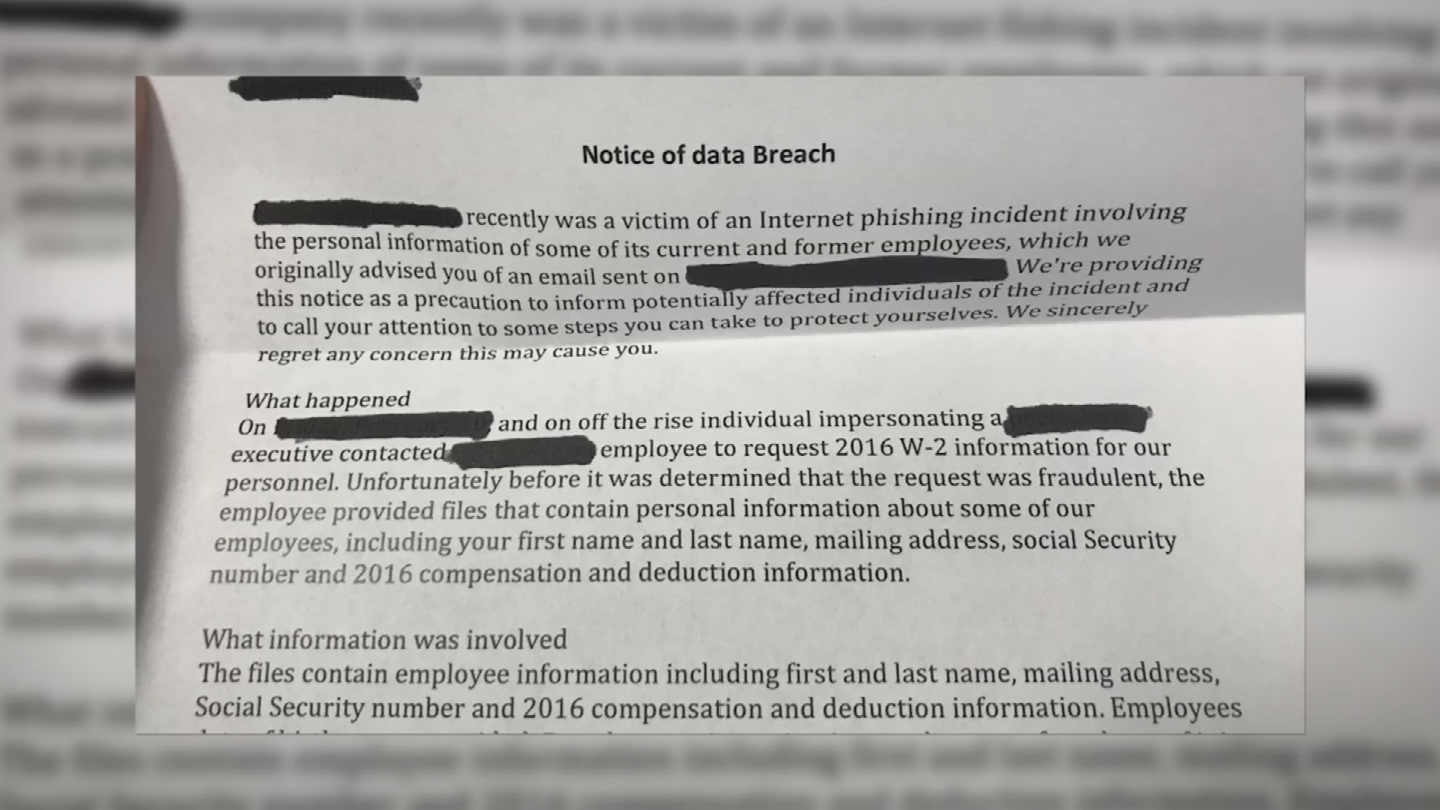Experts say thieves are stealing W-2 information and selling it on the part of the Internet hidden from search engines known as the dark web. (Source: 3TV/CBS 5)