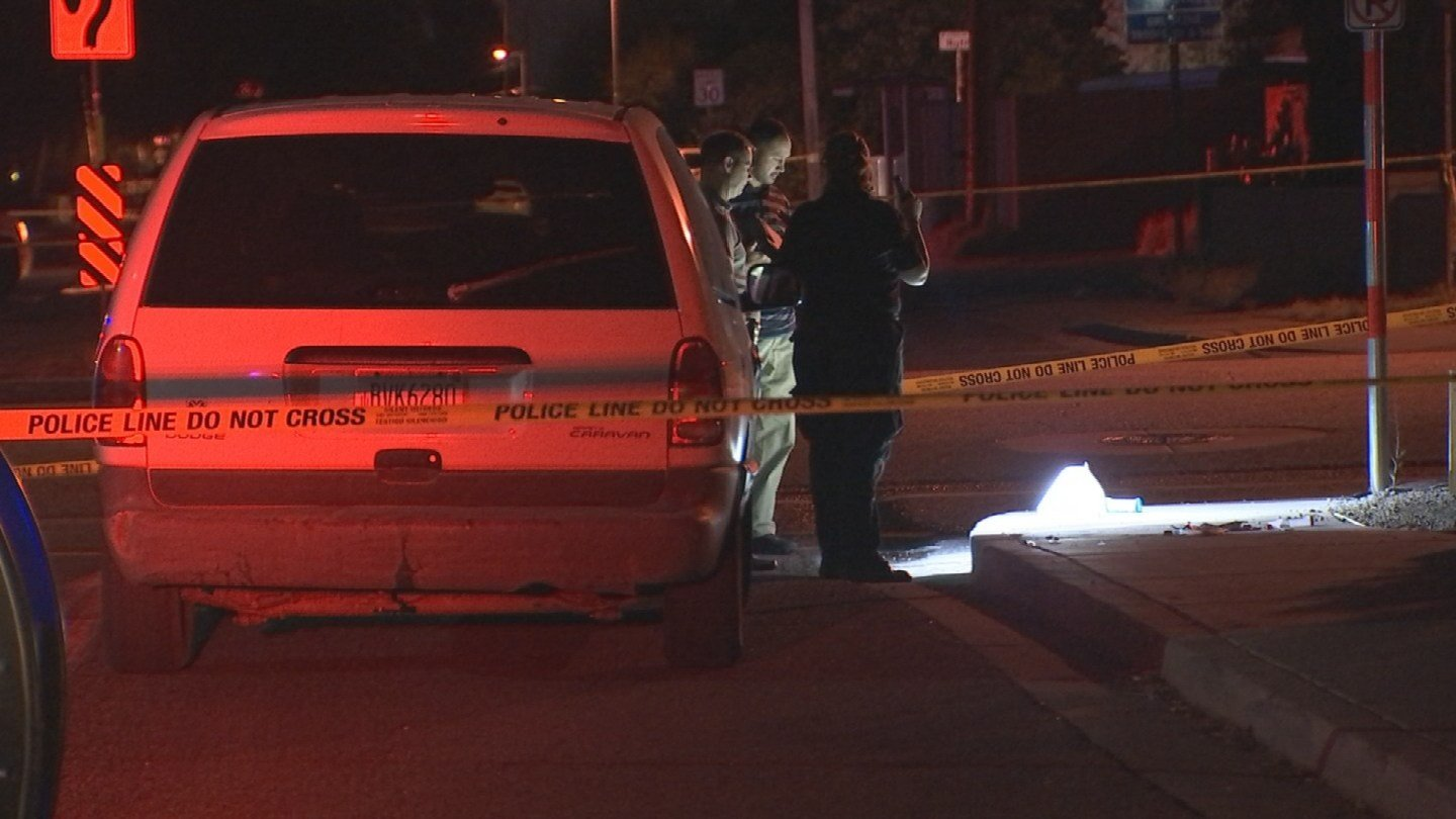 Police investigating deadly shooting at 27th Avenue and Butler Dr.) (SOURCE: 3TV/ CBS 5)
