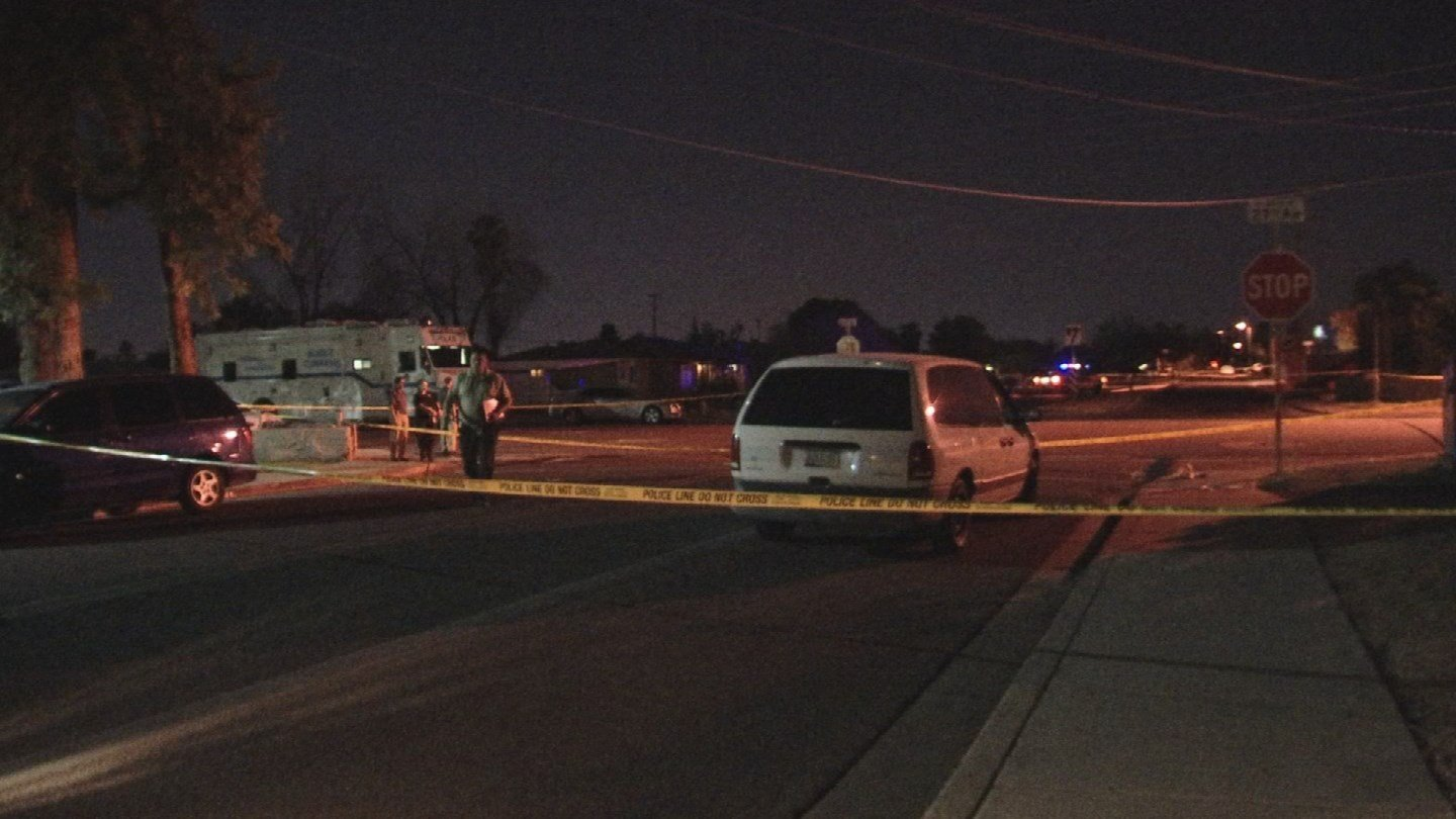 Police say they found a man collapsed on the ground at 27th Ave and Butler Dr. (SOURCE: 3TV/ CBS 5)