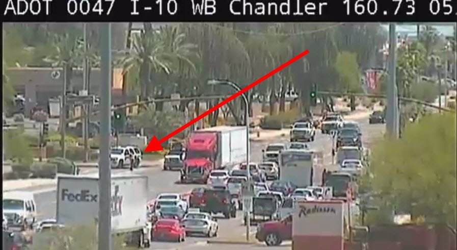 Chandler police: Barricade suspect apparently shot himself