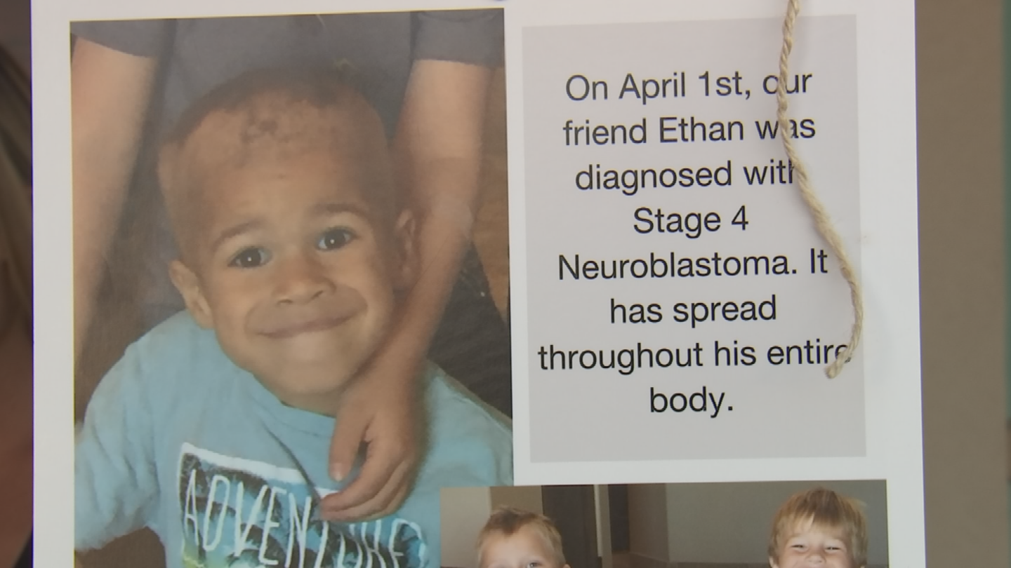 Friends holds a bake sale for a 5-year-old boy living with stage 4 neuroblastoma. (Source: 3TV/CBS 5)