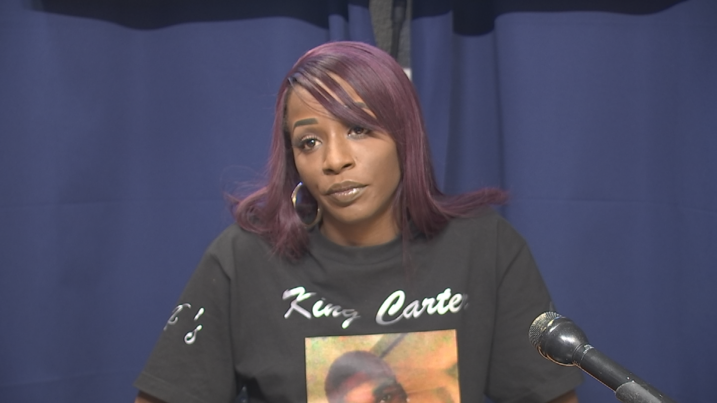 Dala Tarvin wants to keep the case fresh in the public's mind. (Source: 3TV/CBS 5)