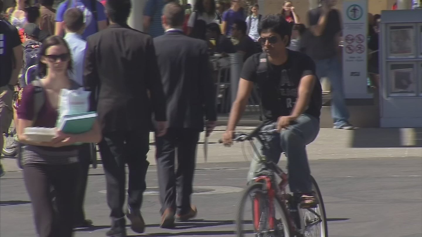 The GRID Bike Share program expanded to Tempe with over 300 public bicycles. (Source: 3TV/CBS 5)
