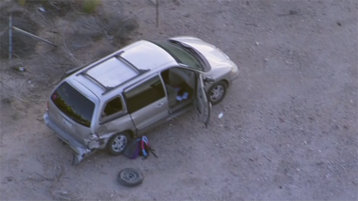 Rural Metro said at least one person was thrown from their vehicle. (Source: 3TV/CBS 5)