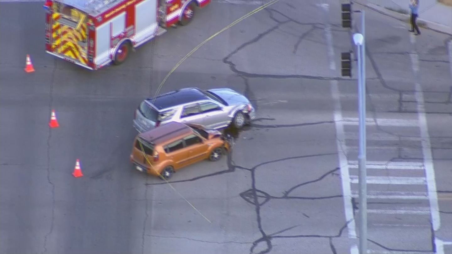 The Department of Public Safety is looking into what led up to the crash. (Source: 3TV/CBS 5)
