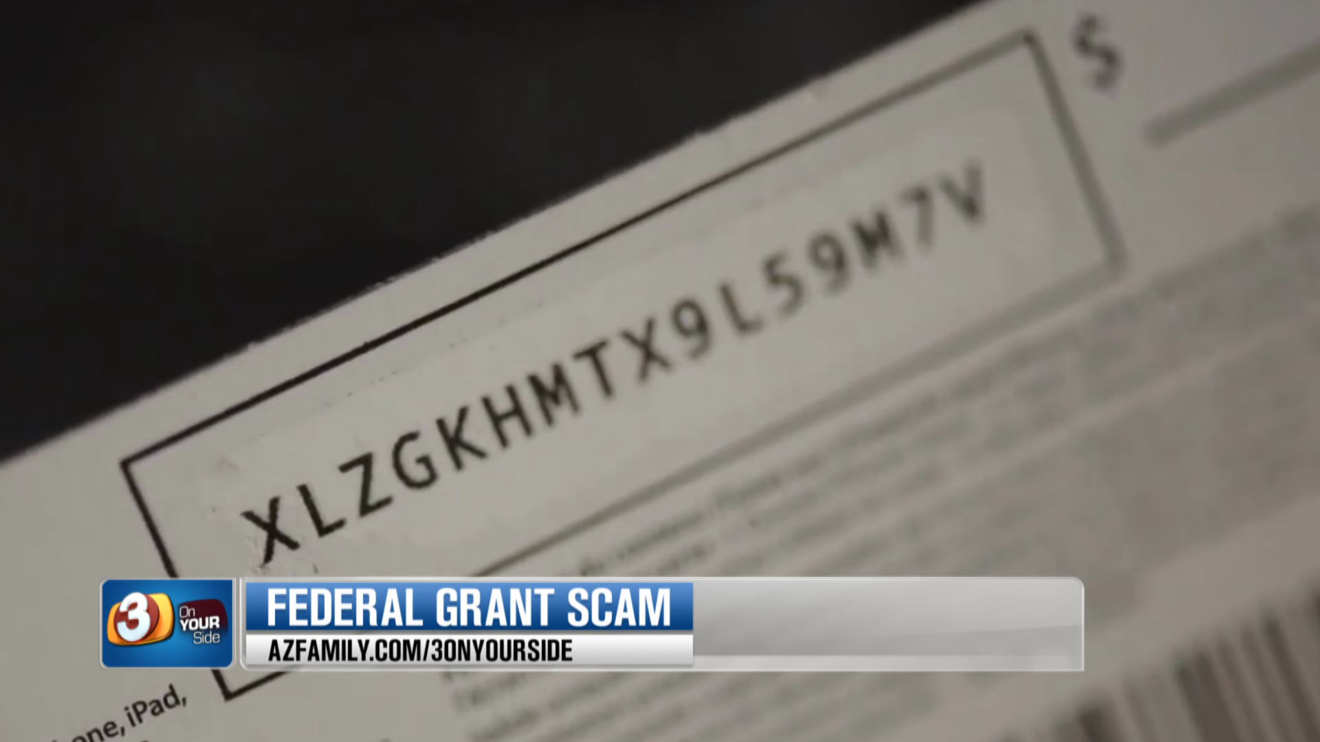 She then scratched off the back of the security code and revealed the numbers to the scammer giving him full access to the $150 dollars. (Source: 3TV/CBS 5)