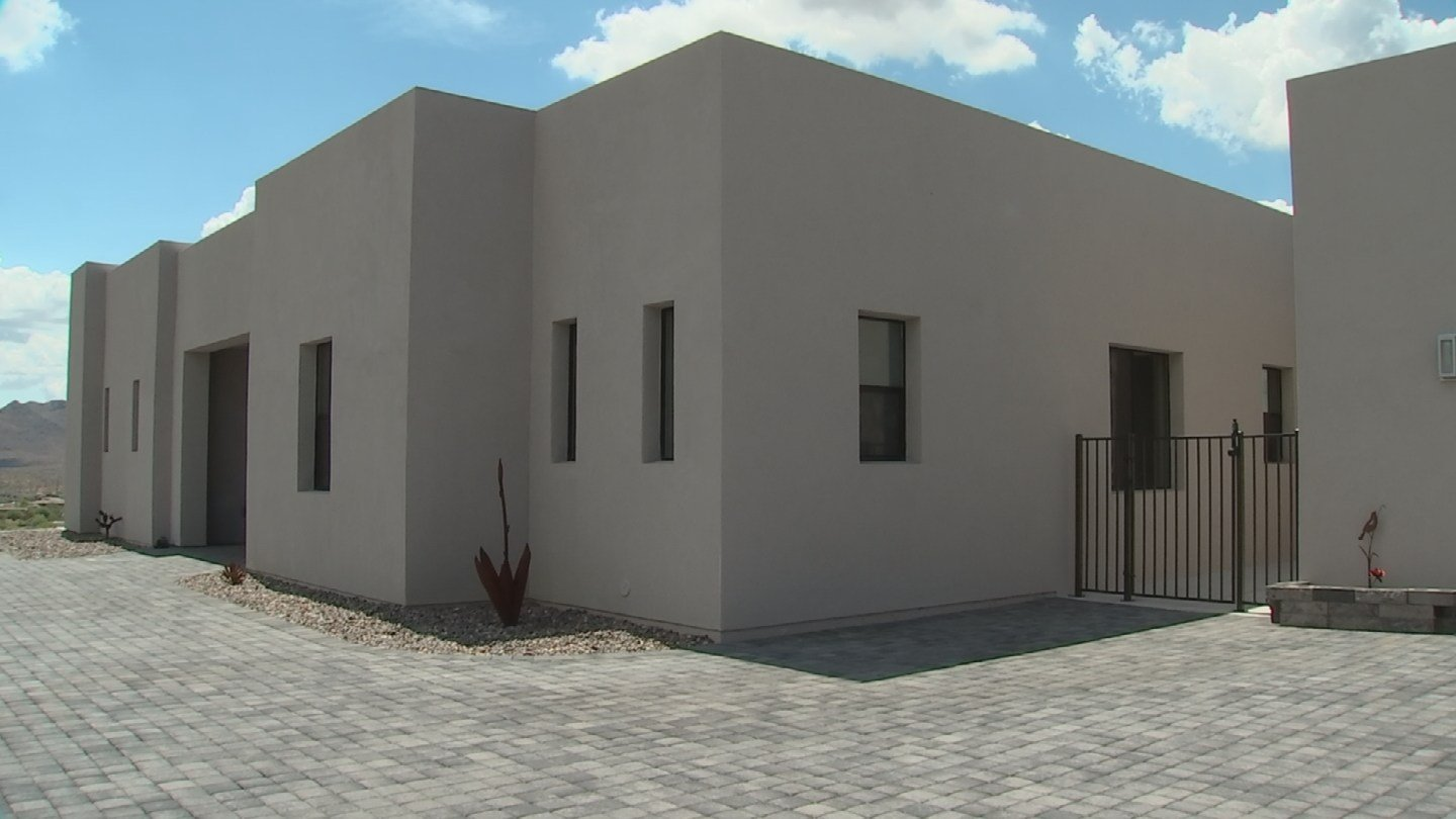 This custom home in Fountain Hills is all ICF construction. (Source: 3TV/CBS 5)