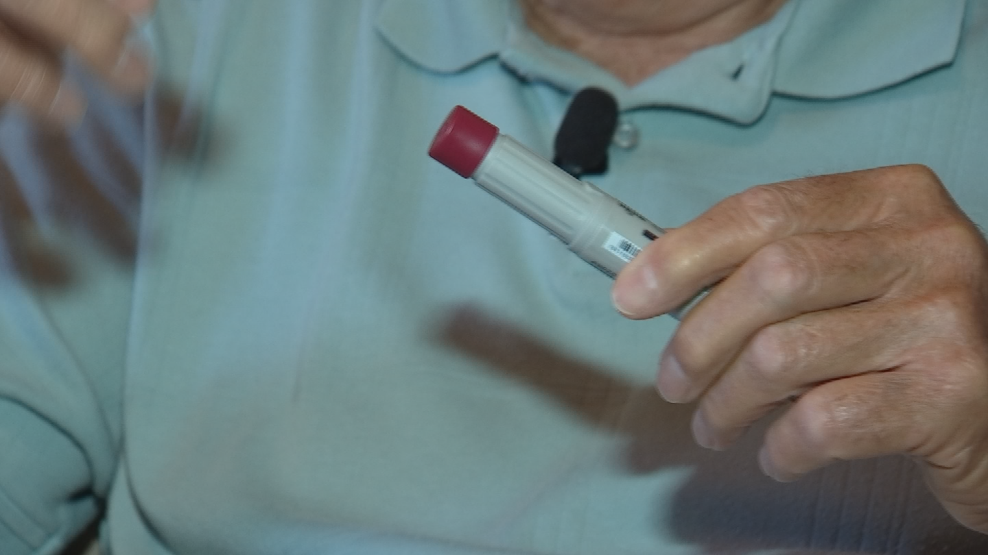 The Centers for Disease Control and Prevention estimates that about 385,000 health care workers suffer sharps-related injuries each year. (Source: 3TV/CBS 5)