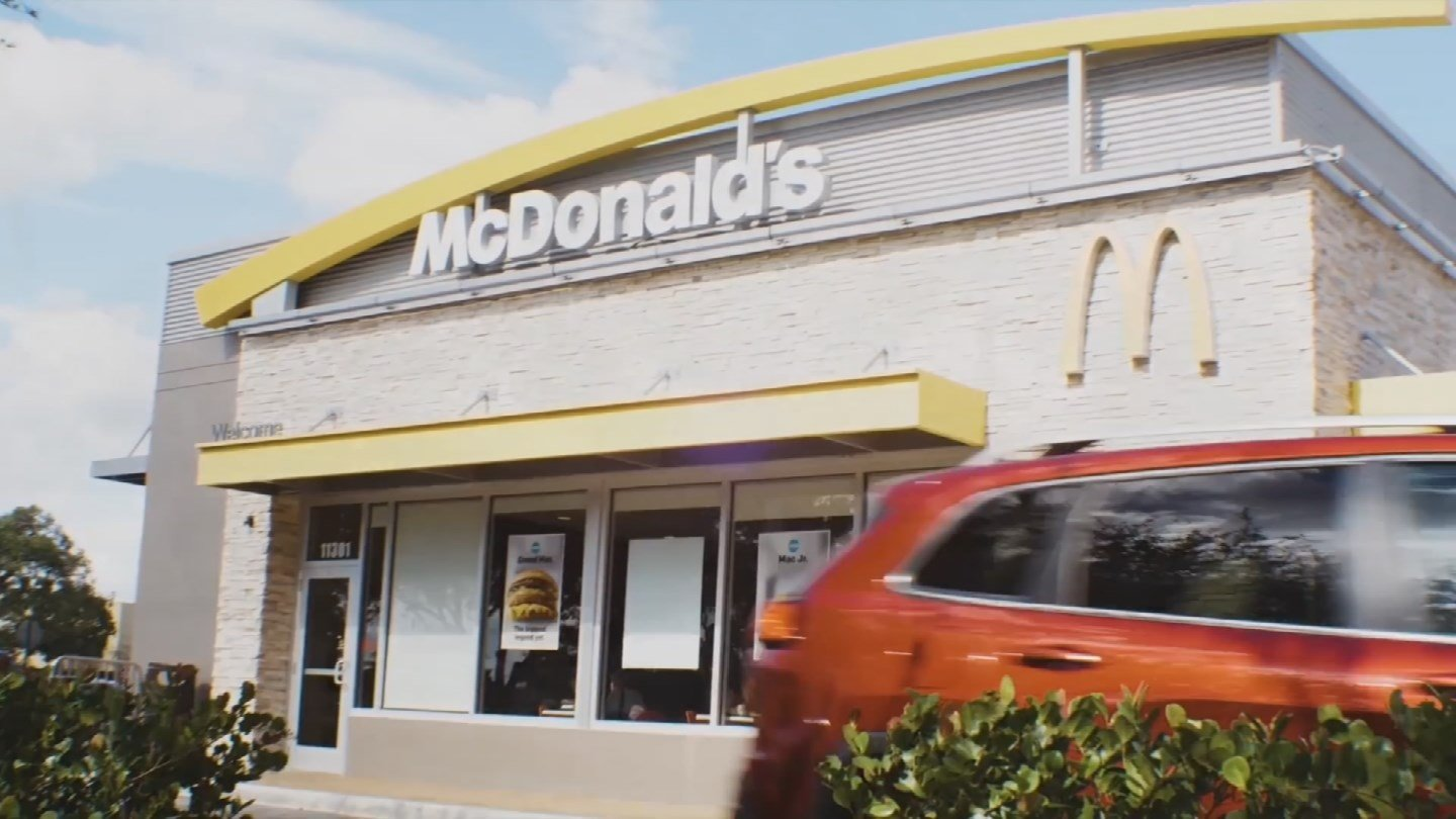 McDonald's has partnered with UberEATS to bring McDelivery to Phoenix. (Source: 3TV/CBS 5)