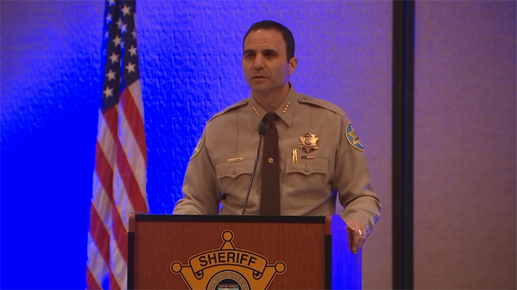 Maricopa County Sheriff Paul Penzone spoke about his first 100 days in office. (Source: 3TV/CBS 5)