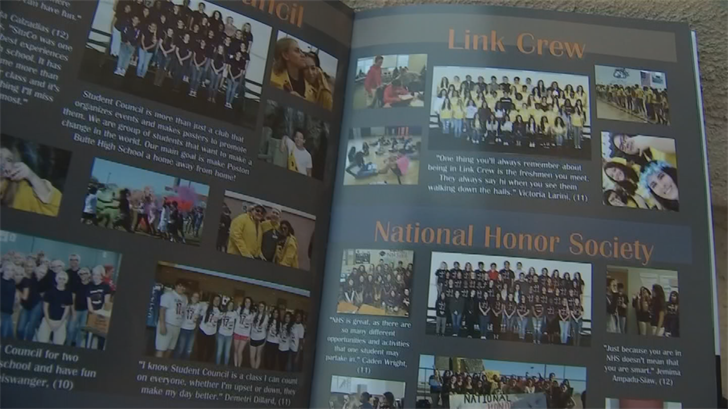 Parents can either get a refund for the yearbook or swap it out for a clean version. (Source: 3TV/CBS 5)