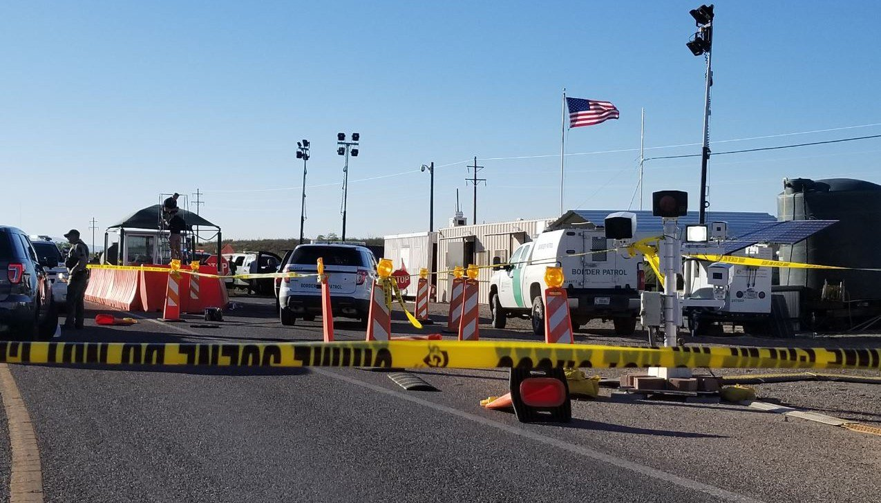 A man was injured during a shooting with border patrol agents in Tucson on Wednesday. (Source: U.S. Customs and Border Protection )