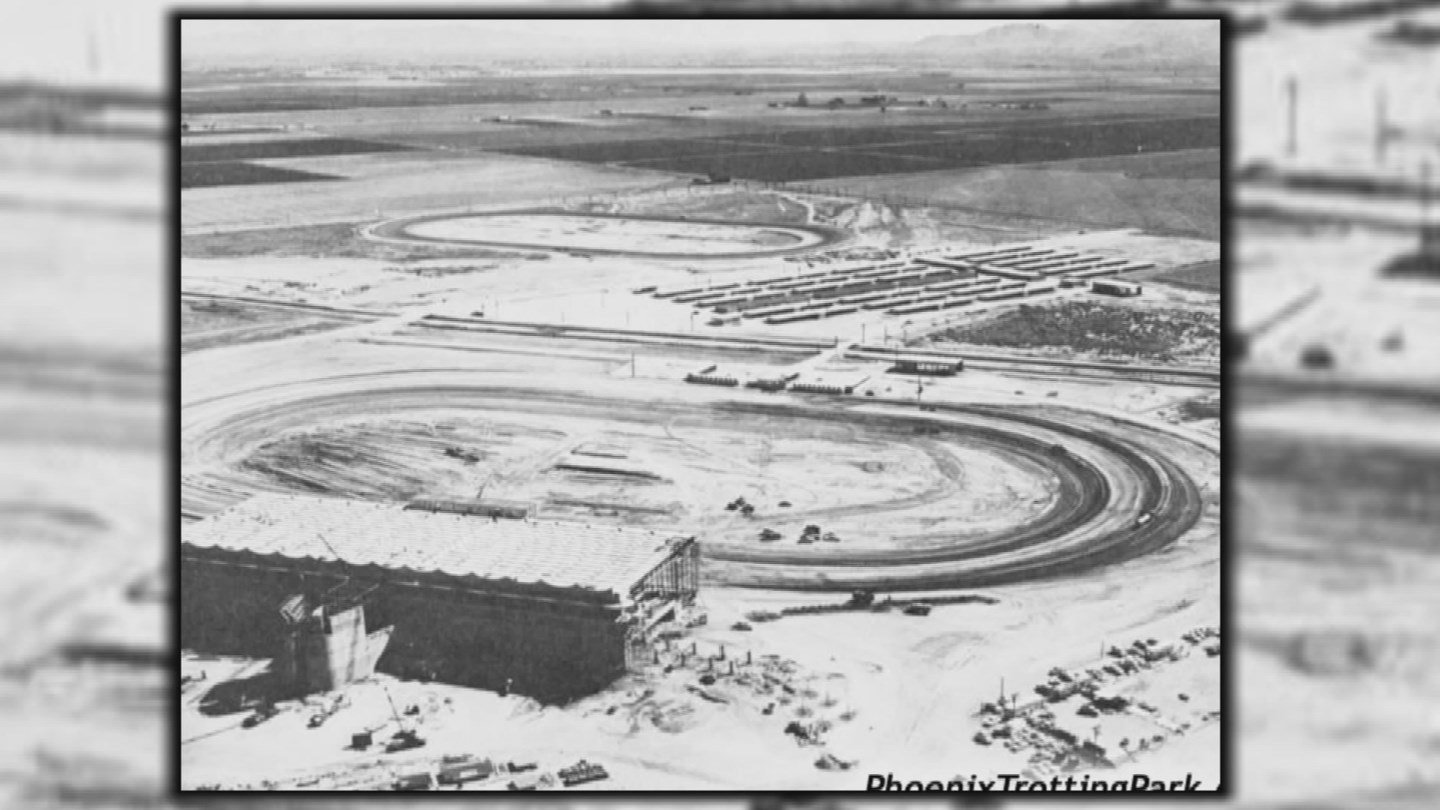 The Phoenix Trotting Park opened in 1965 to much fanfare. (Source: 3TV/CBS 5)