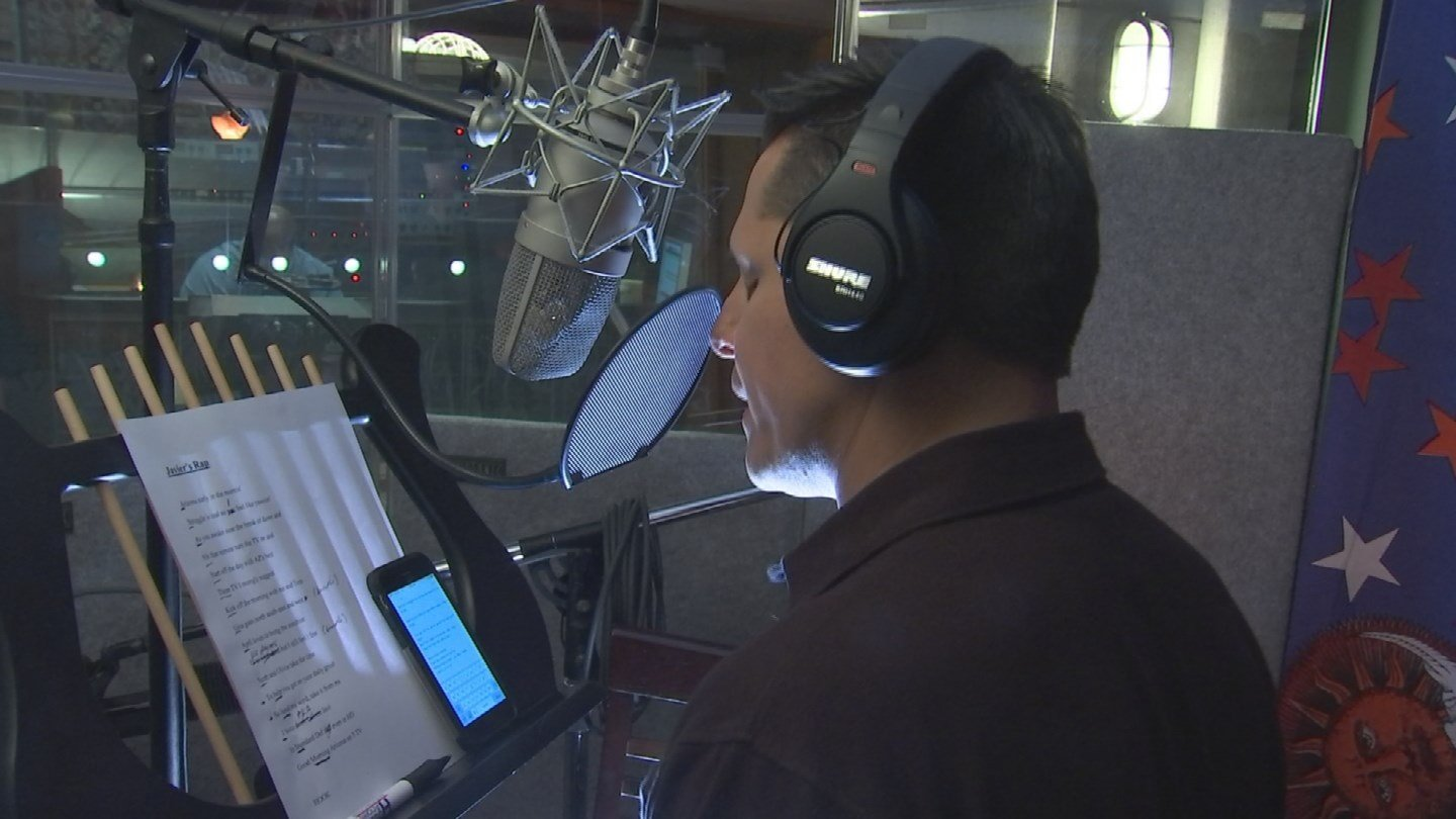 105 takes in the studio (Source: 3TV/CBS 5)