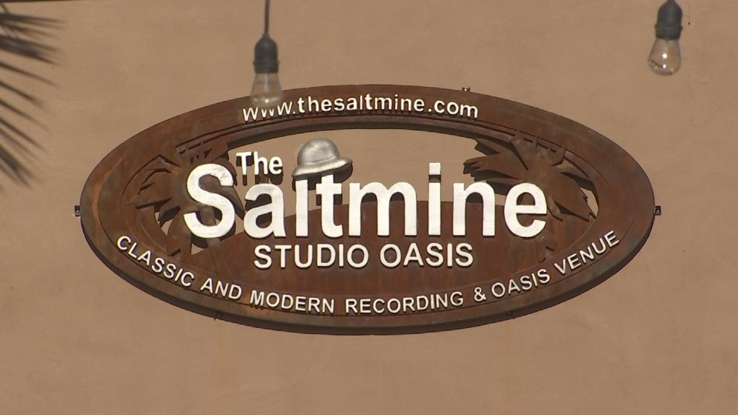 The Saltmine Studio Oasis : Where the magic happened (Source: 3TV/CBS 5)
