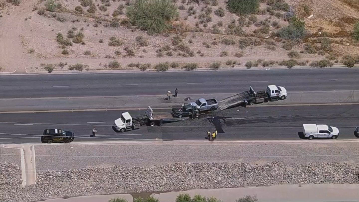 Both drivers were transported to the hospital with life-threatening injuries. (Source: 3TV/CBS 5)