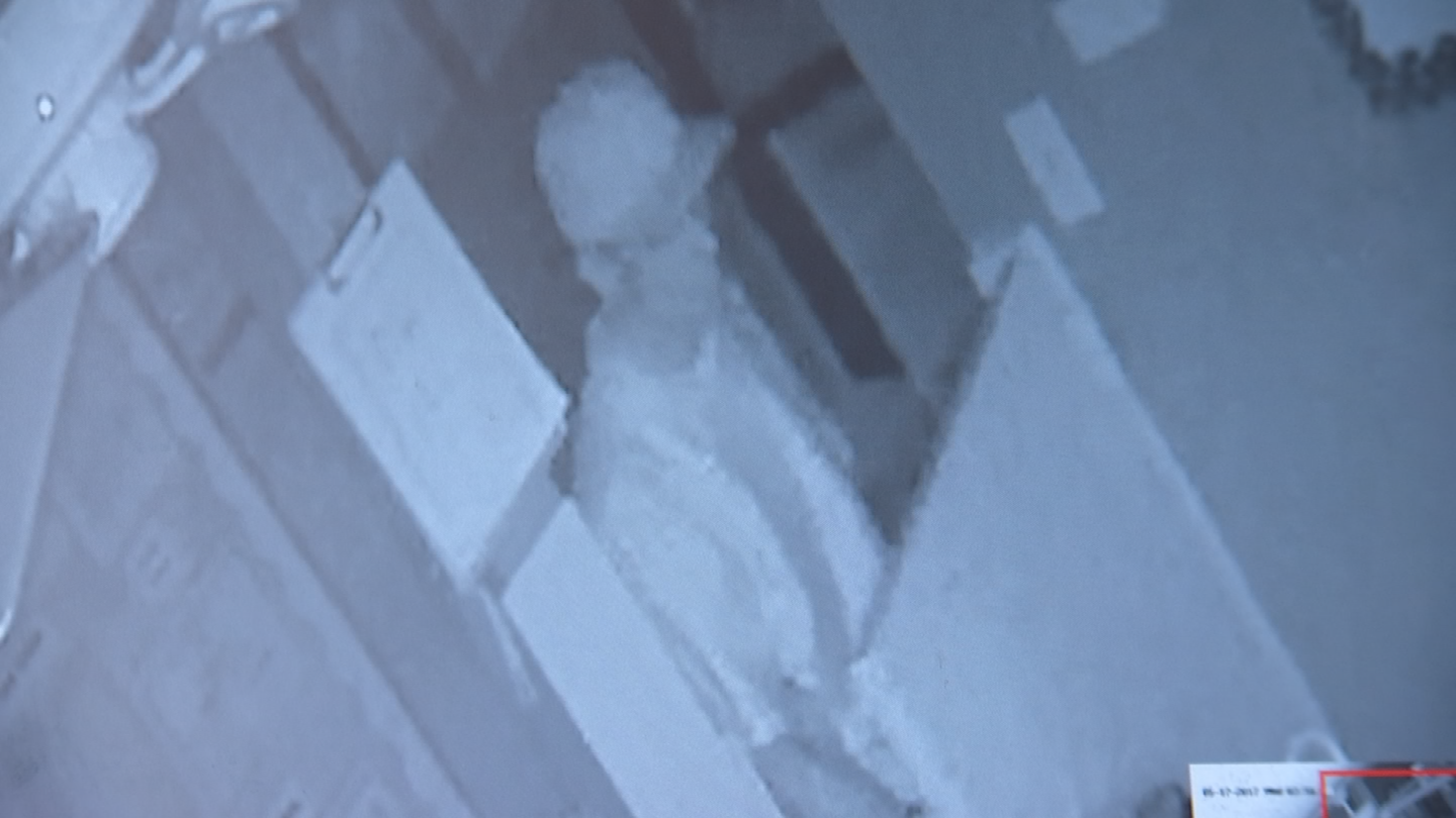 Surveillance video shows a man breaking into a day care in Maryvale. (Source: 3TV/CBS 5)