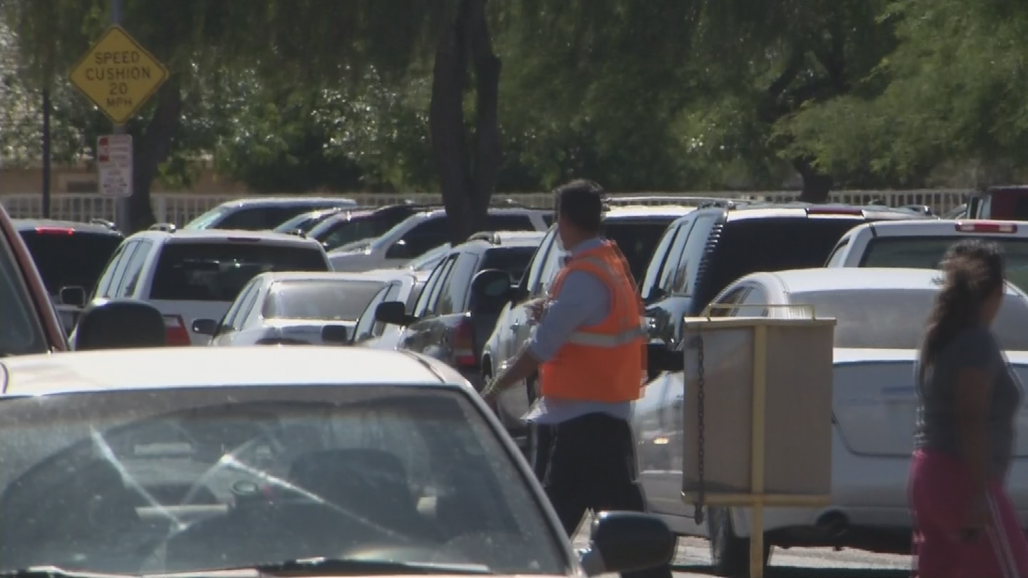 There was a large presence of adults at the schools nearby. (Source: 3TV/CBS 5)