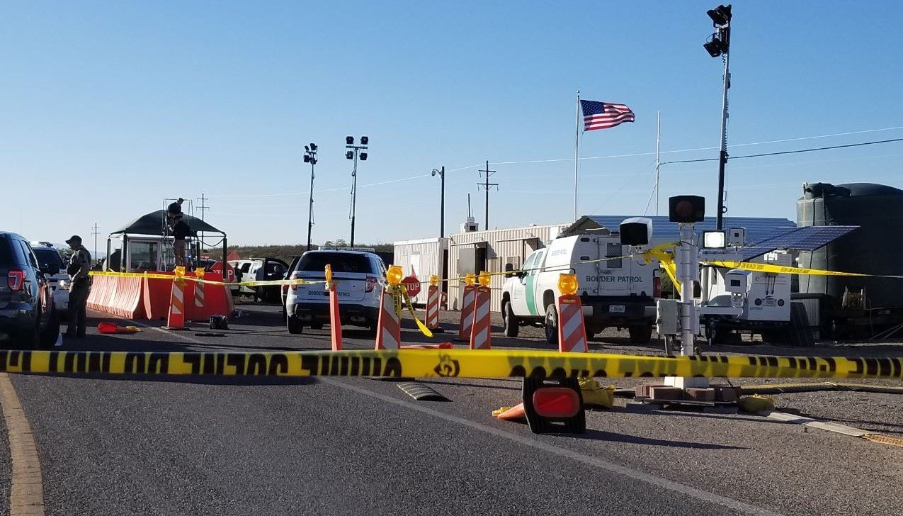 A man was injured during a shooting with border patrol agents in Tucson on Wednesday. (Source: U.S. Customs and Border Protection)