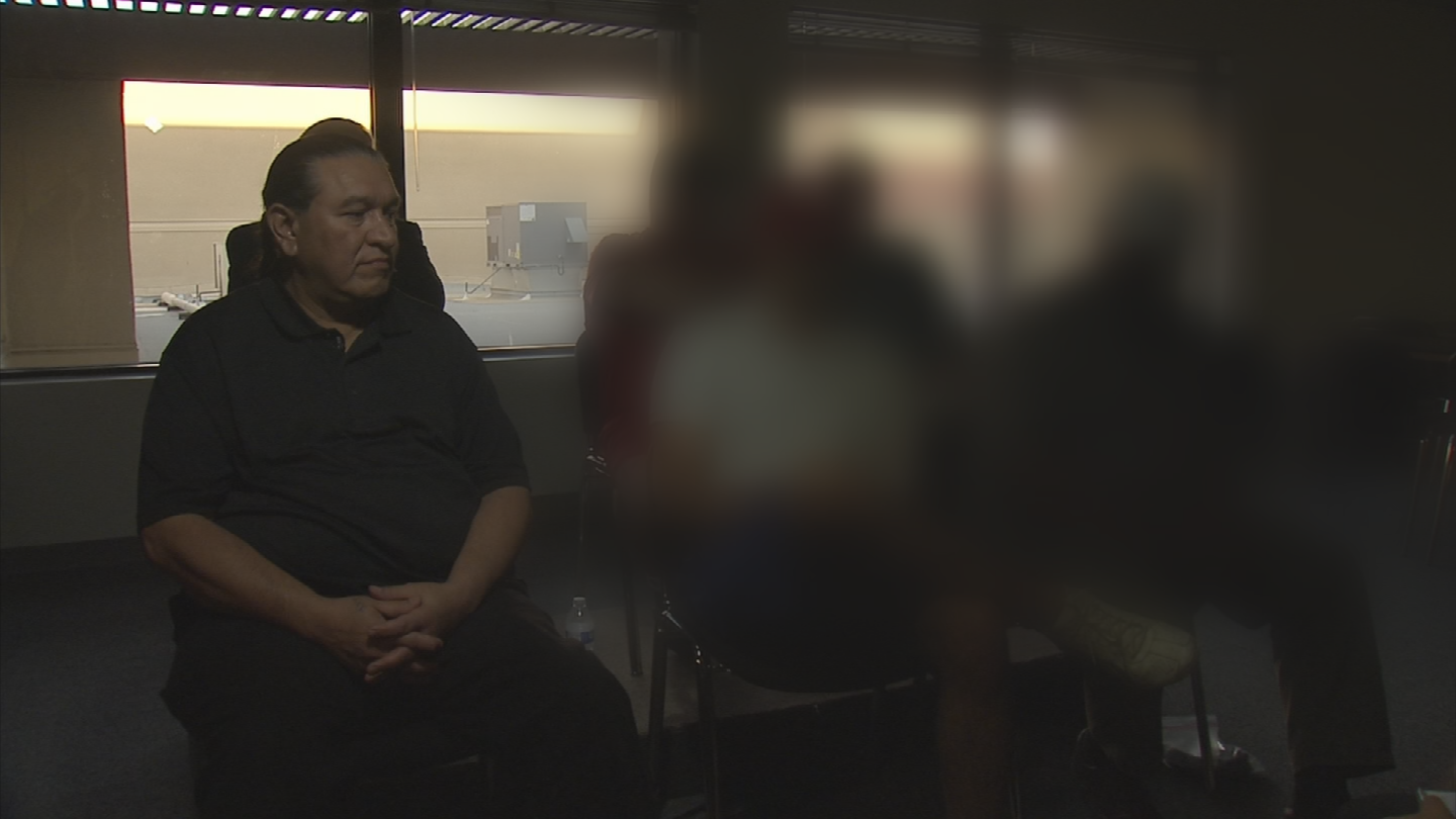 A group of veterans are upset at the way they were treated at a veteran housing facility in Phoenix. (Source: 3TV/CBS 5)