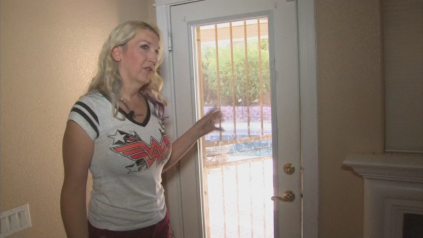 A Chandler woman said someone broke into her home and left a note asking for sex. (Source: 3TV/CBS 5)