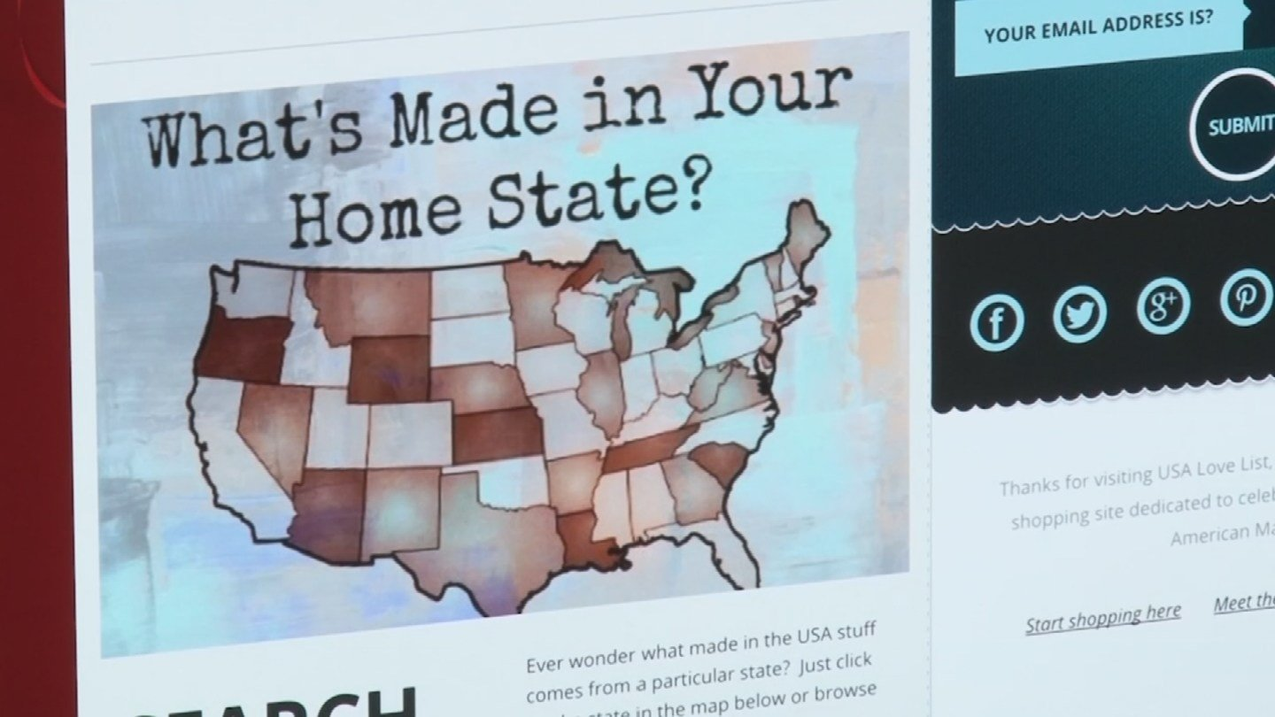 Some websites help consumers find products that were actually made in the USA, as claimed. (Source: 3TV/CBS 5)
