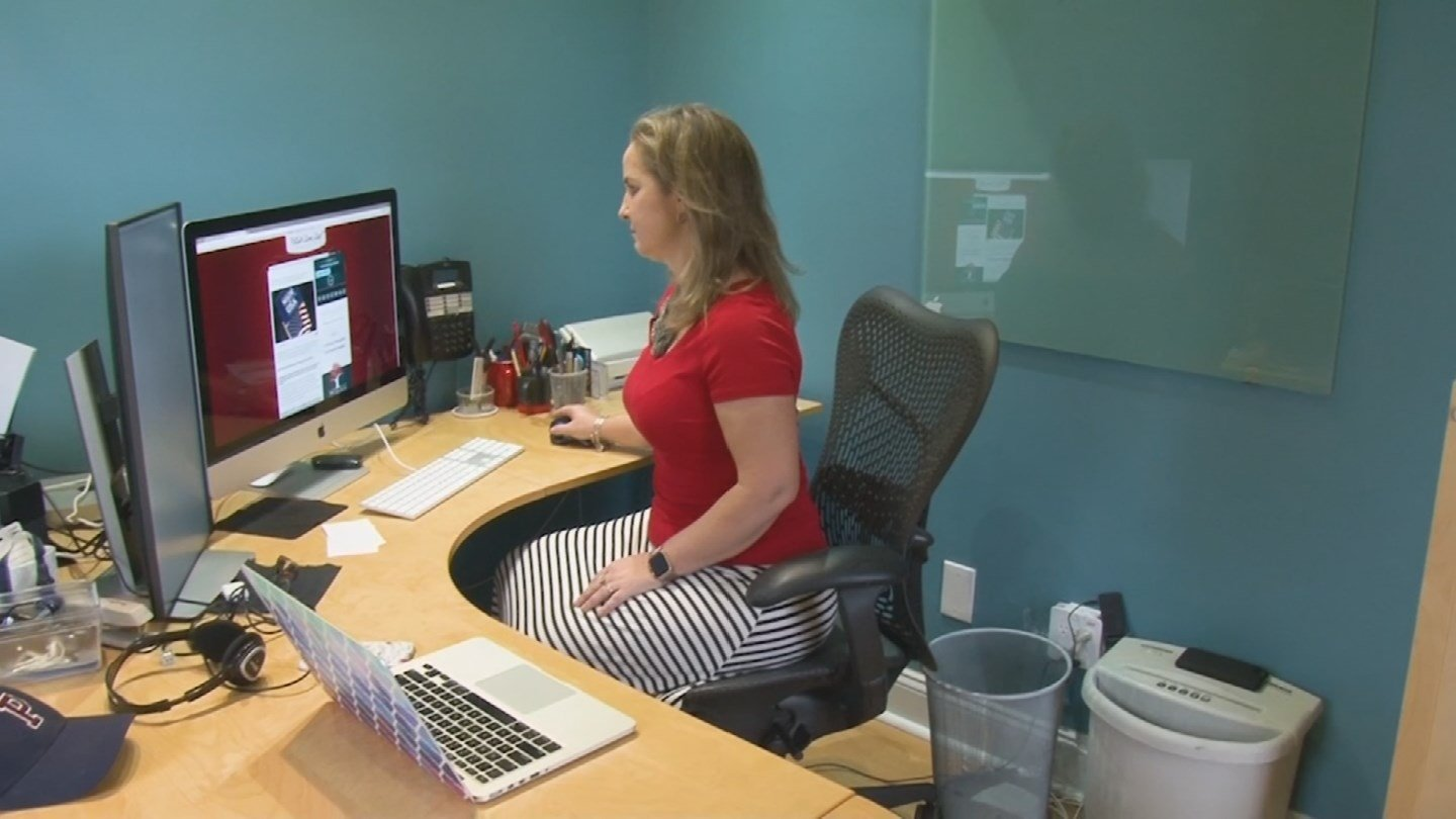 Sarah Wagner created a website that lists products made in the USA. (Source: 3TV/CBS 5)