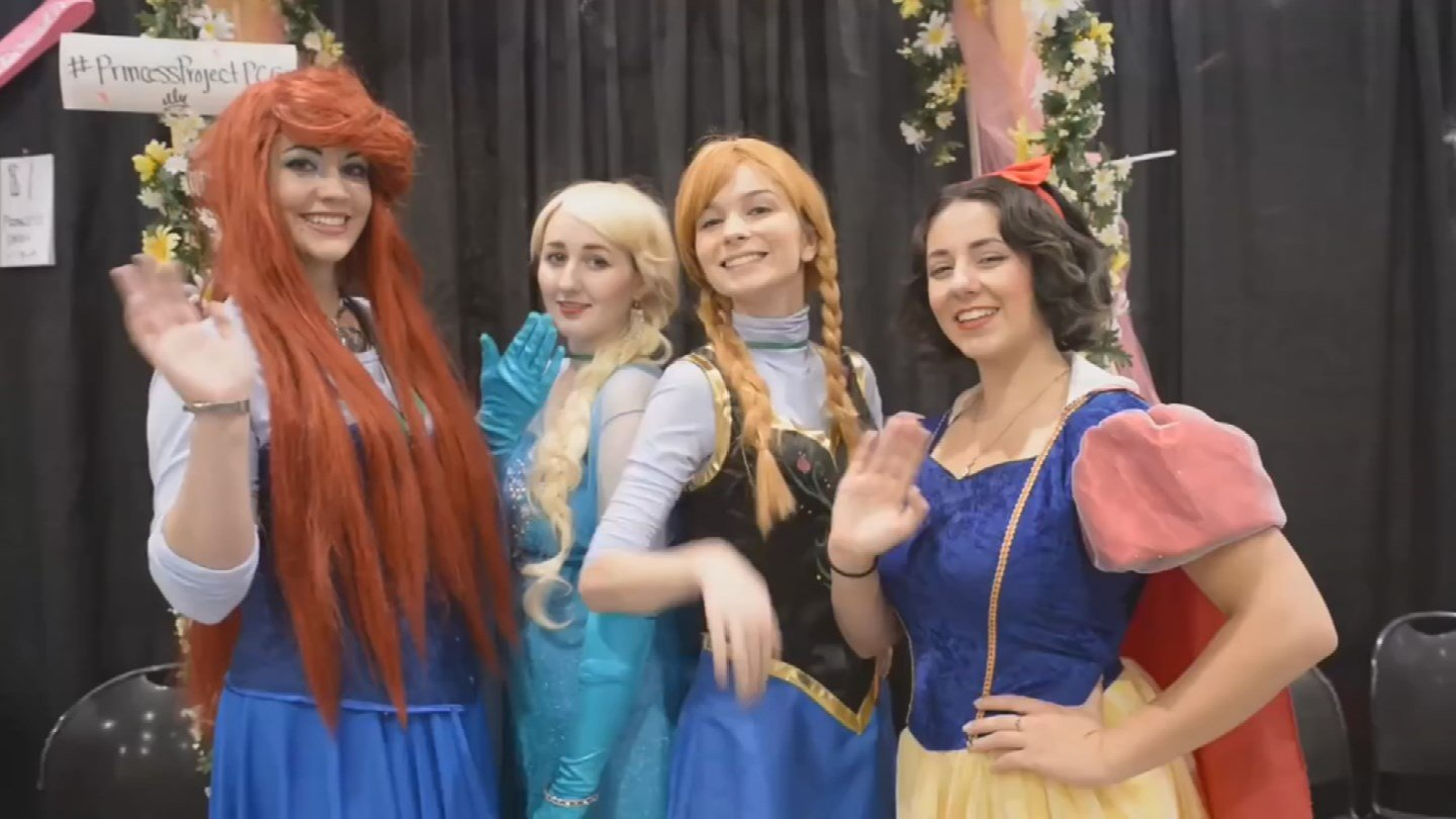 Cosplay fans attend an event held at the Art Institute of Phoenix. (Source: 3TV/CBS 5)