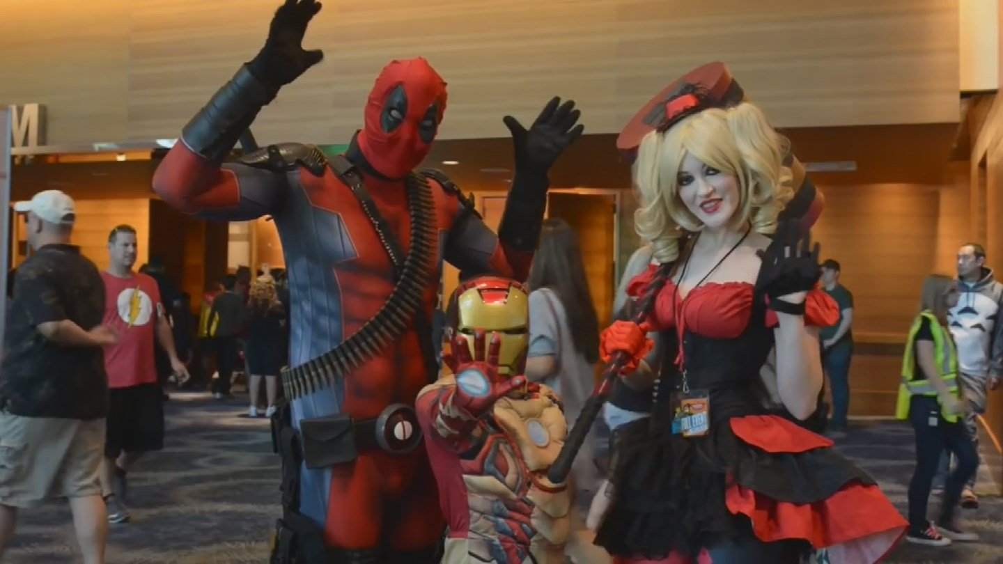 The costumes ranged from characters in books and video games to some very popular characters. (Source: 3TV/CBS 5)