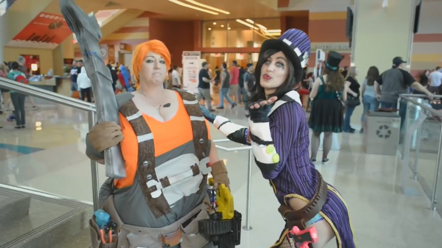 Cosplayers say the costumes are a labor of love and can take months to make. (Source: 3TV/CBS 5)