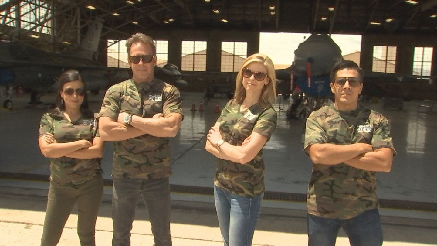 The Good Morning Arizona crew headed to Luke AFB for Field Trip Friday. (Source: 3TV/CBS 5)