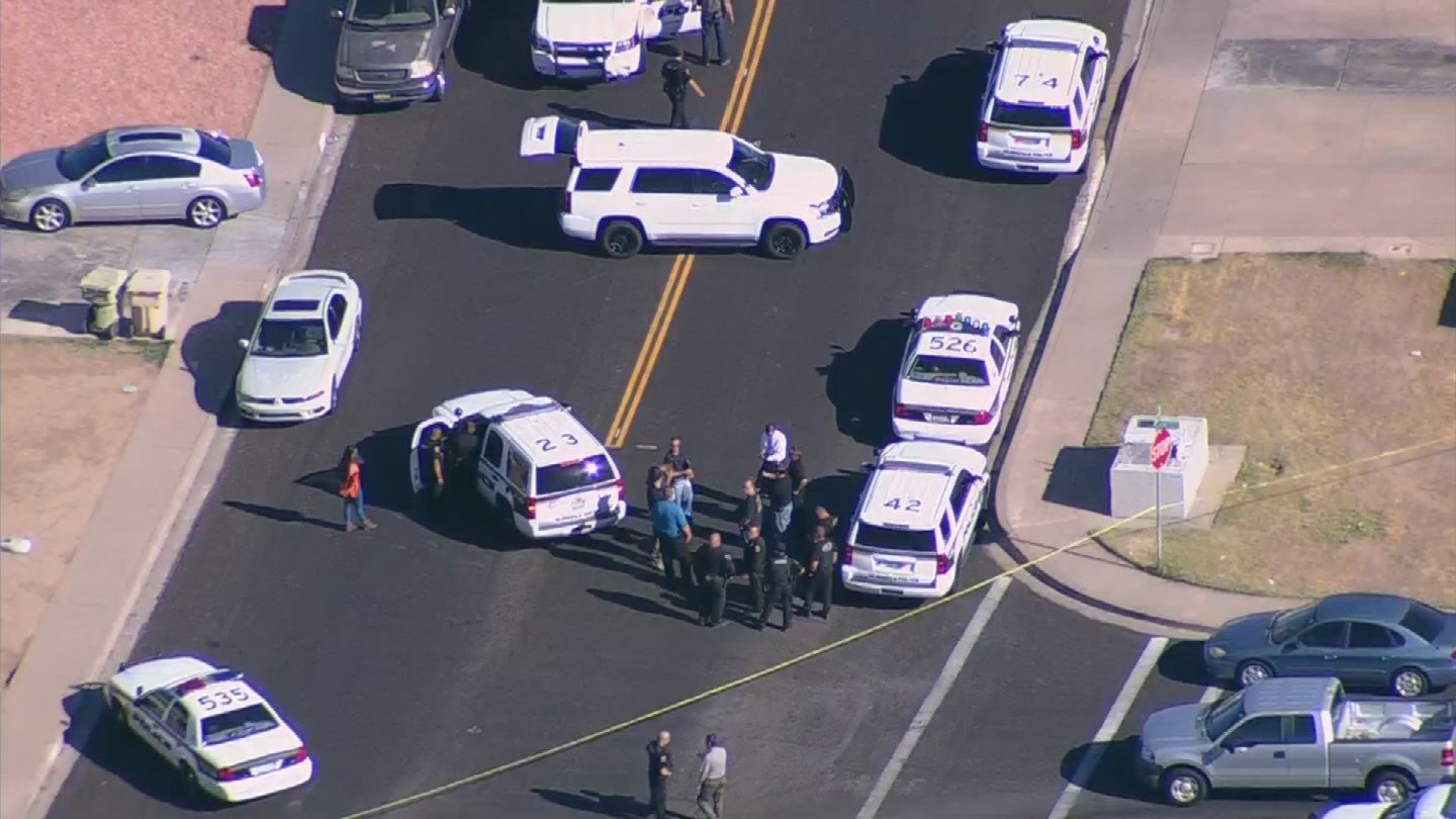 One man died and another man was injured after a police officer tried to stop a fight in Glendale. (Source: 3TV/CBS 5)