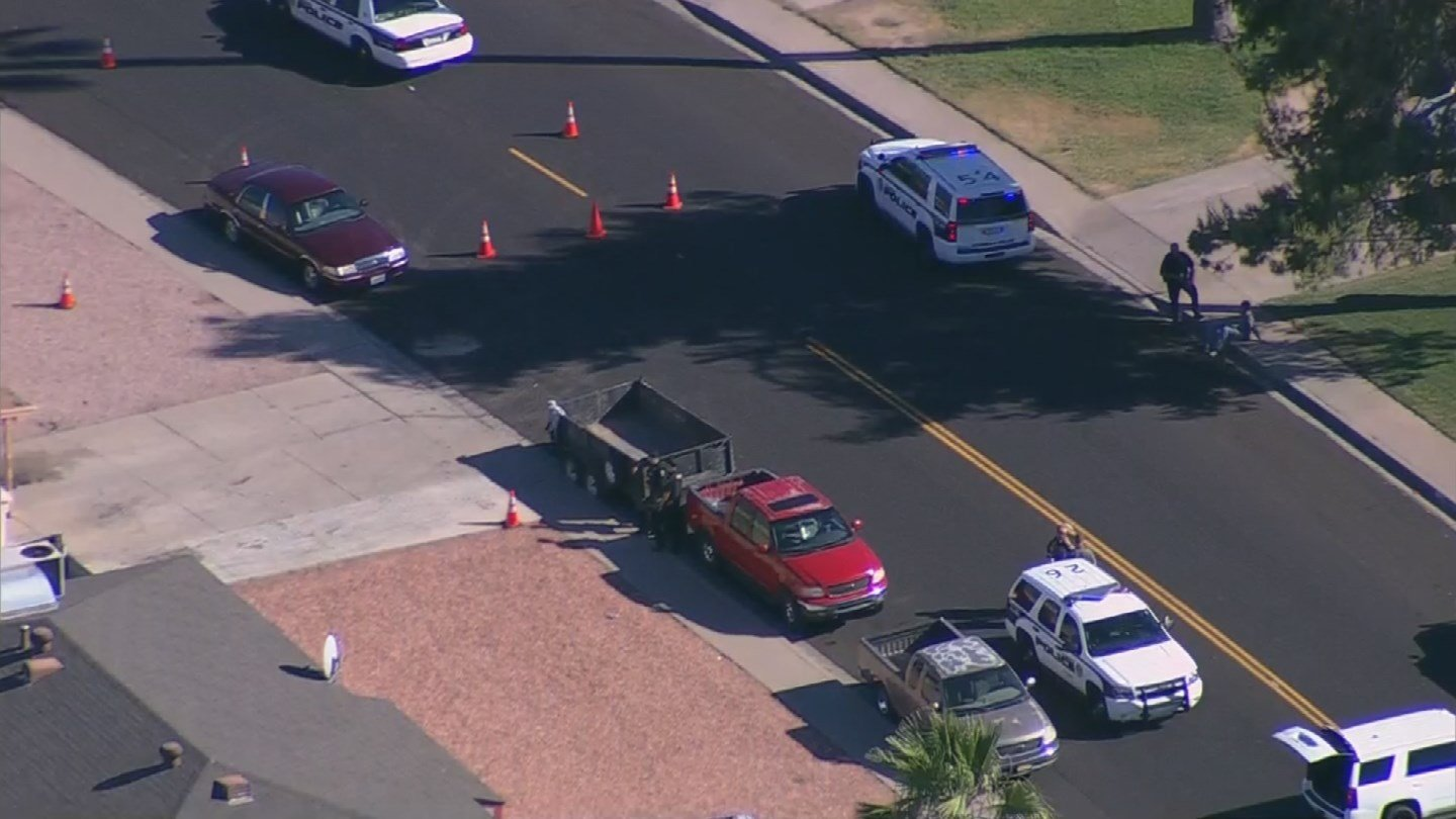 The shooting was happened near the 5500 block of N. 63rd Avenue. (Source: 3TV/CBS 5)