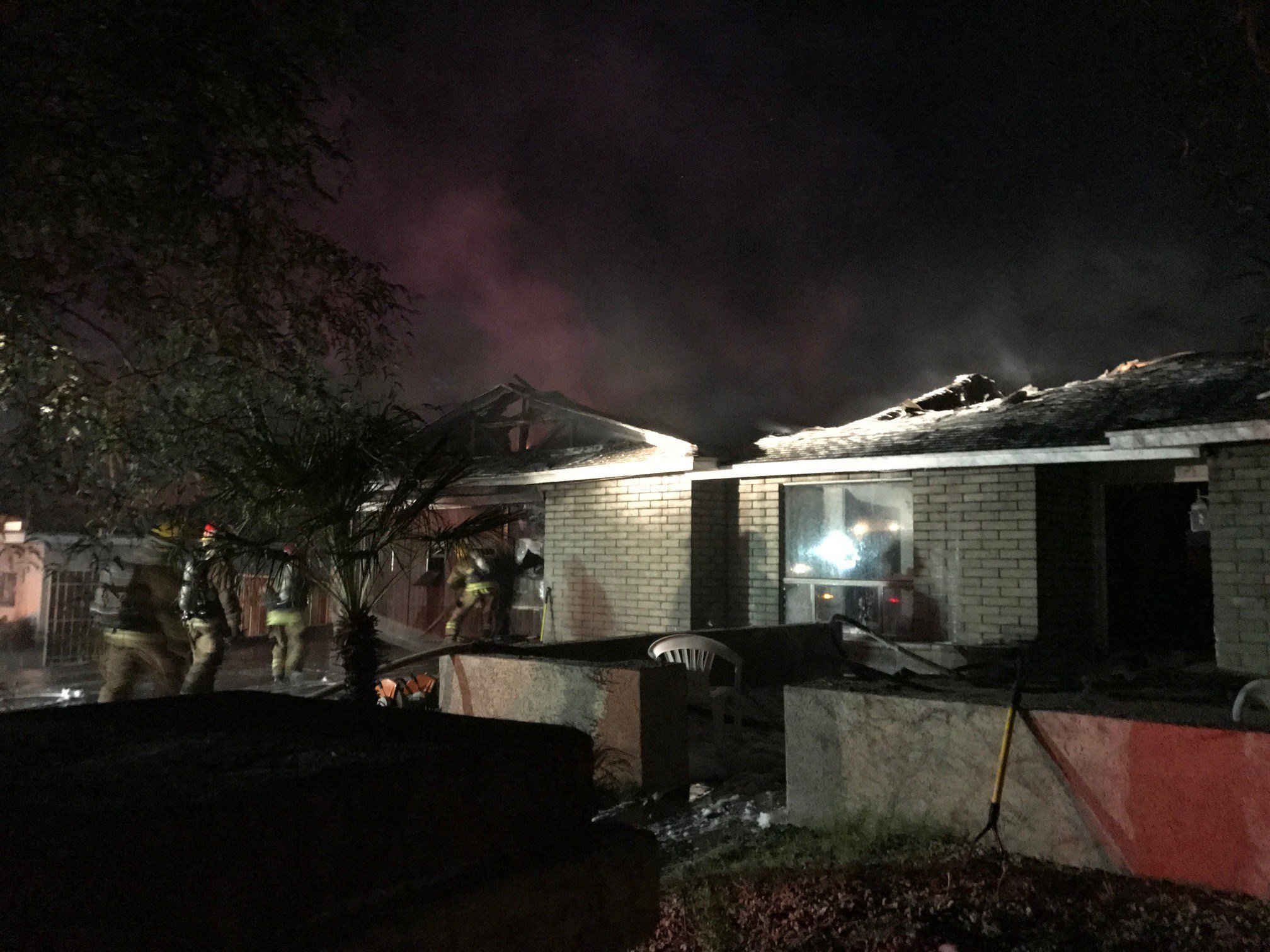 Phoenix Fire says three people are displaced following a house fire. (Courtesy: Phoenix Fire)