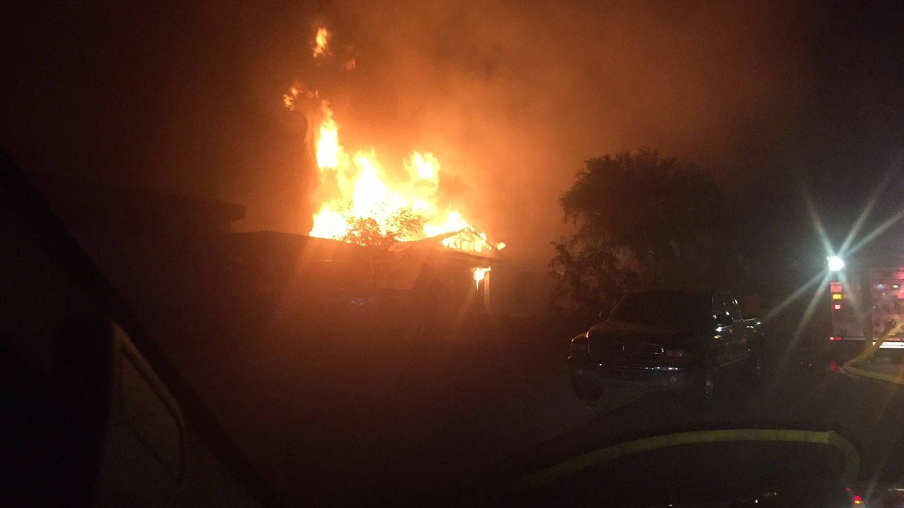 Phoenix Fire says three people are displaced following a house fire. (Source: Phoenix Fire)