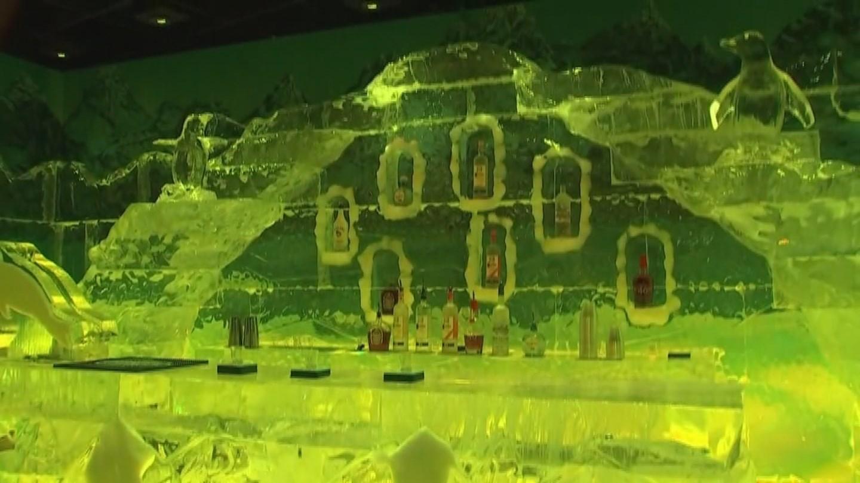 The ice bar at Polar Play (Source: 3TV/CBS 5)