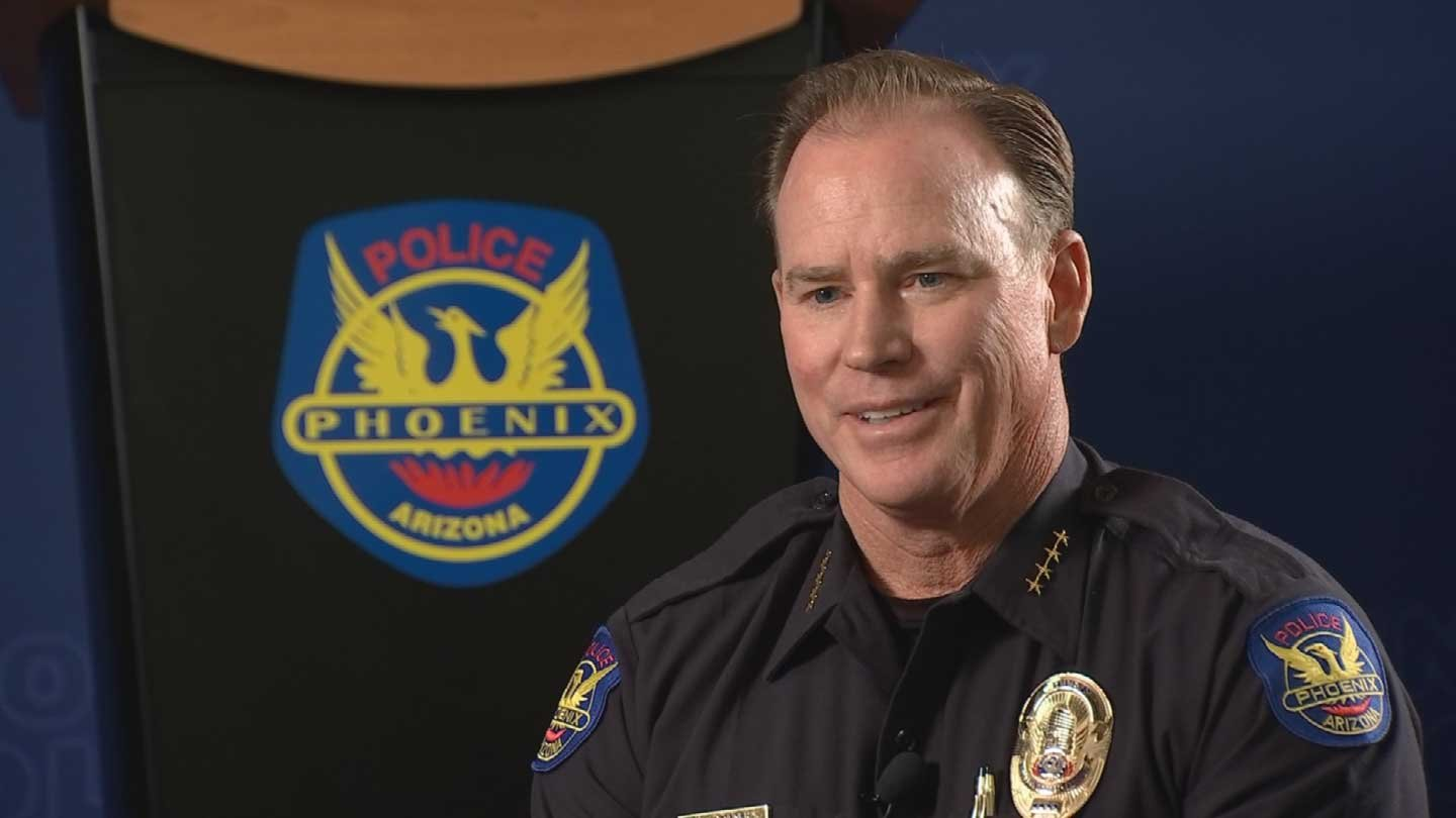 Former Phoenix Police Chief Joe Yahner (Source: 3TV/CBS 5)
