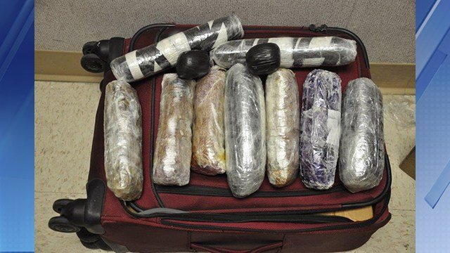 Border patrol agents seized 20 pounds of heroin worth more than $400,000. (Source: U.S. Customs and Border Protection)