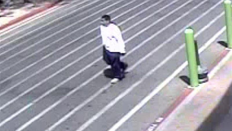 Authorities were searching for a man who allegedly stole an elderly woman's purse outside of a Wal-Mart in Tucson. (Source: Pima County Sheriff's Office)