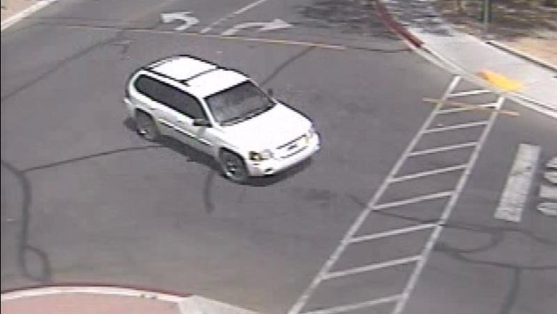 The suspect allegedly got into a white SUV that drove away from the scene. (Source: Pima County Sheriff's Office)