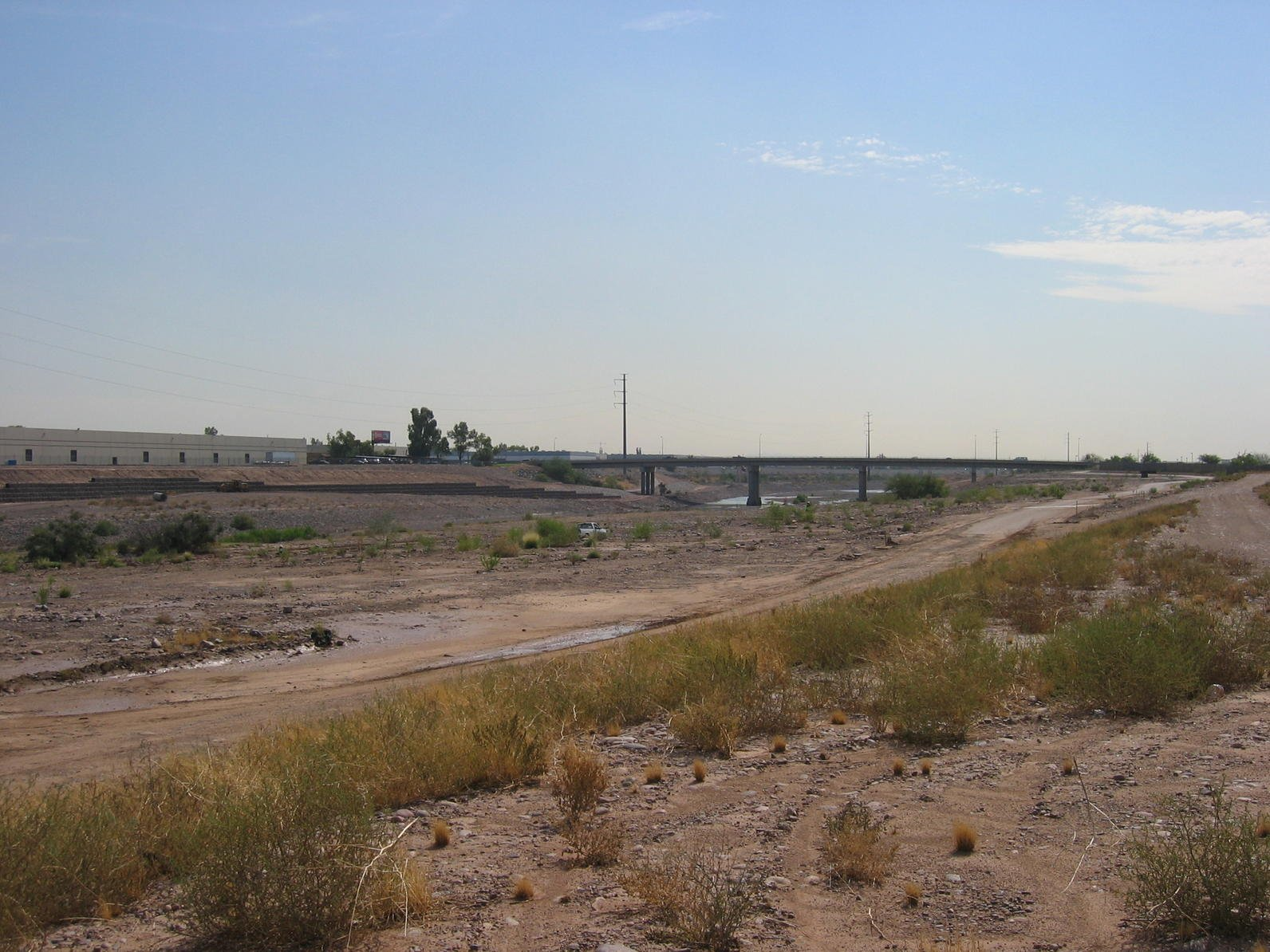 The Salt River near Mesa is often pretty dry nowadays. (Source: Rio Salado Project)