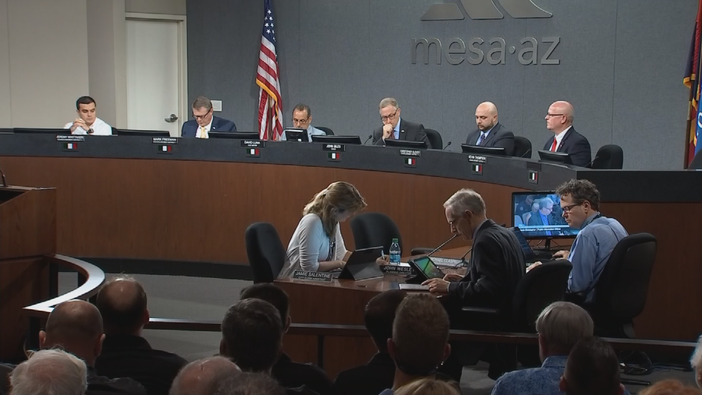 Mesa will become the first city in Arizona to privatize its jails for misdemeanor inmates. (Source: 3TV/CBS 5)
