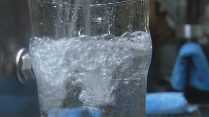 The five-stage treatment plant will begin churning out purified water during the first week of June for testing. (Source: 3TV/CBS 5)