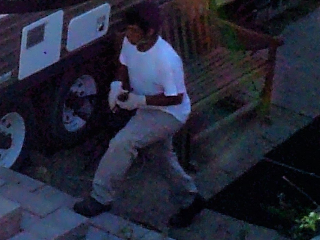 Another photo shows a suspect at 5:25 p.m. on April 12.  (Source: Yavapai County Sheriff's Office)
