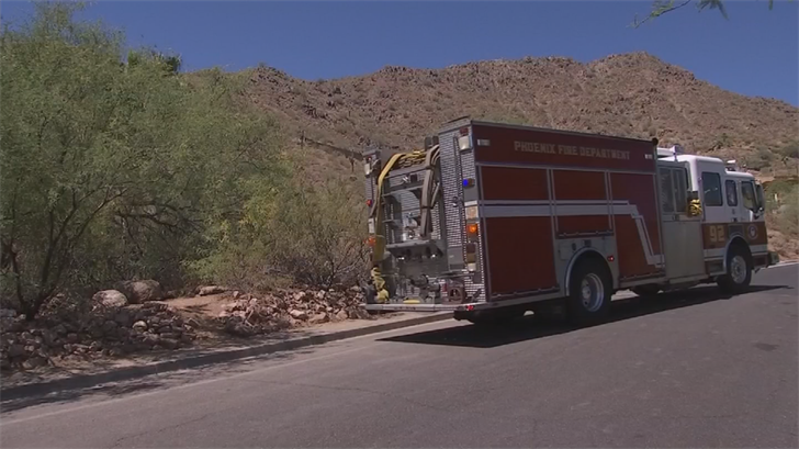 The Phoenix Fire Department has seen 3.5 more rescues in 2017 compared to this time last year. (Source: 3TV/CBS 5)